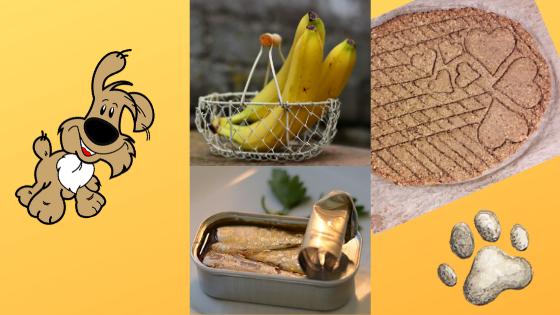 Sardinen-Hirse-Kekse mit Banane